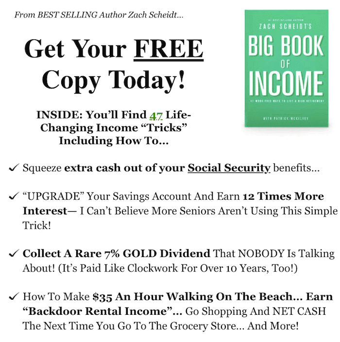 The big book of income reviews